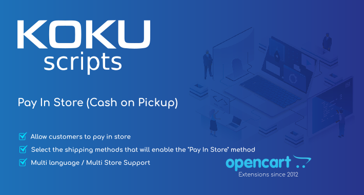 Pay In Store / Cash On Pickup